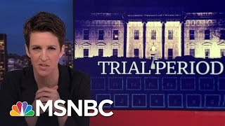 Is The Trump Admin Stupid Or Nefarious? | Rachel Maddow | MSNBC