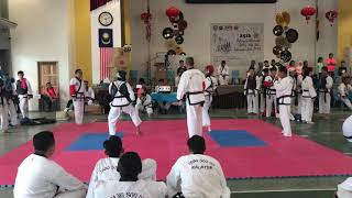 Tang Soo Do National 2018- Ryan Sim vs Hafizudin