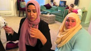 Get Ready With Me and Nadoona | Day #12 Ramadan 2015 | Nye Armstrong