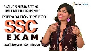 Preparation Tips for SSC Exam-How to get easily qualified for SSC Exam