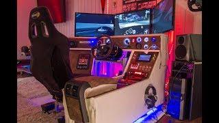 Simracing Cockpit, Simracing Hardware, Simulation, Rig, DIY cockpit
