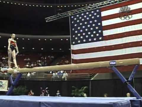 Verona Van De Leur Balance Beam 2002 Visa American Cup