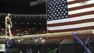 Verona Van De Leur - Balance Beam - 2002 Visa American Cup