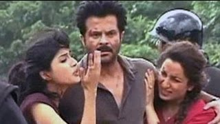 On the sets of Anil Kapoor
