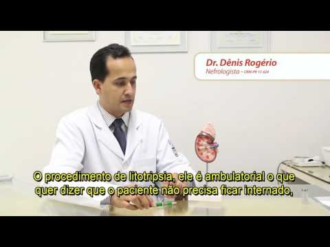Dr. Dênis Rogério Litotripsia Extracorpórea