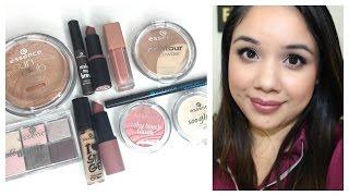 Essence Cosmetics Reviews + Demos | Eyeshadow, Brow Mascara, Lipstick, Bronzer + More!!