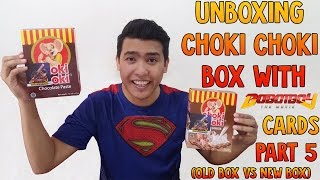 OMG!!! SUPER LUCKY OR NOT??!  Unboxing Choki Choki Box With Boboiboy The Movie Cards Part 5