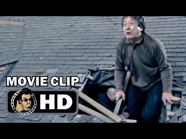 THE FOREIGNER Movie Clip - Fight on the Roof (2017) Jackie Chan Action Movie HD