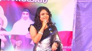 Welcome Song by Rimi Tomy   Mother of God Church  Leicester Thirunnal 2013