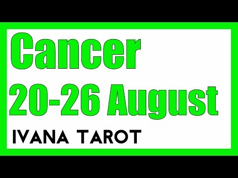 ❤️  LOVE TAKES TIME Cancer Weekly Tarot Reading 20 -26 August 2018