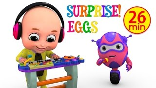 Kids Toys - Musical Toy Keyboard for Kids | Surprise Eggs from Jugnu Kids