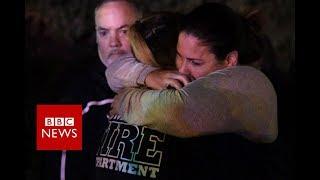 Several injured in California bar shooting - BBC News