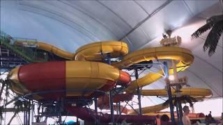 FallsView Indoor Water Park Niagara Falls Ontario Canada Review 2017