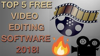 Top #5 Free Video Editing Software for New YouTubers! i Recommend