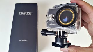 ThiEYE V5S 4K WiFi Action Camera Review - REPLACE LENS FILTERS