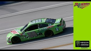 Dale Earnhardt Jr. takes the Coors Light Pole at Talladega
