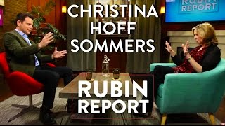 Christina Hoff Sommers and Dave Rubin: Feminism, Free Speech, Gamergate [Full Interview]
