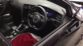 Volkswagen GOLF7.5R 純正リモコン エンジンスターター