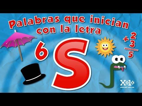 Xxx Mp4 Palabras Que Inician Con La Letra S En Español Para Niños Videos Aprende 3gp Sex