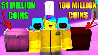 ROBLOX PET SIMULATOR *MAX CHESTS = MILLIONS OF COINS*