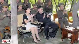 اول ظهور لزوجه زعيم كوريا الشماليه