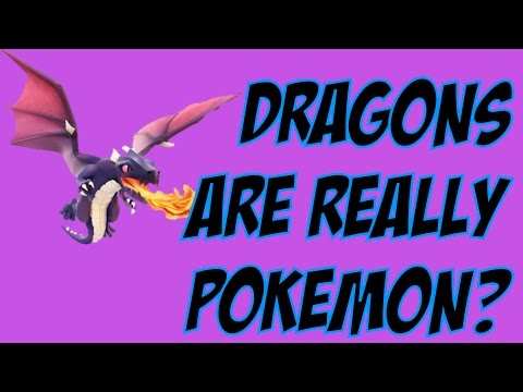 Xxx Mp4 Clash Of Clans Dragons Are Really Pokemon 3gp Sex