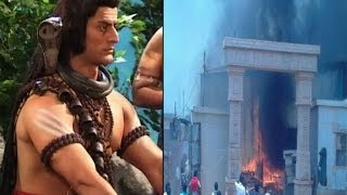 Fire on 'Devon Ke Dev Mahadev' set - IANS India Videos