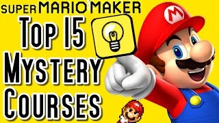 Super Mario Maker TOP 15 MYSTERY Courses with Secrets (Wii U)