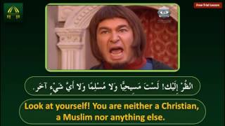 Learn Arabic by Movie Clips - Episode 1 - An argument between two French knights during the crusades