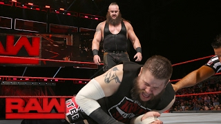Braun Strowman vs. Kevin Owens - WWE Universal Championship Match: Raw, Jan. 30, 2017