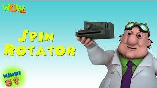 Spin Rotator - Motu Patlu in Hindi - 3D Animation Cartoon for Kids -As seen on Nickelodeon