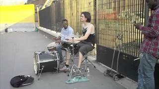 Jam near the Colesseum- Rome 2014