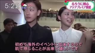 Sato Takeru & Takei Emi Moments