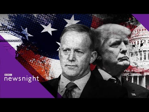 Xxx Mp4 Sean Spicer On Donald Trump And The White House BBC News 3gp Sex