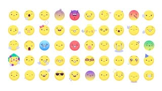 Animated Emoticons Pack v. 2 ( After Effects Project Files )★ AE Templates