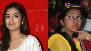 Actress Lakshmi Menon & Nazriya - Conflict