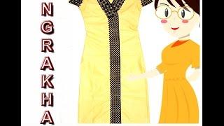 Angrakha Cutting And Stitching | DIY - Tailoring With Usha