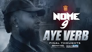 FINAL THOUGHTS: AYE VERB TALKS LOADED LUX (NEW INTERVIEW)
