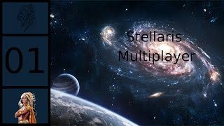 Let's Play Stellaris - Multiplayer - Nasal Confederacy #1