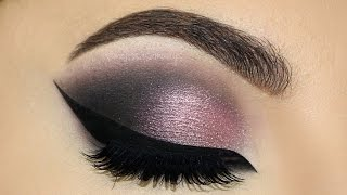 ⭐Dramatic Plum Smokey Eyes & Cat Eyeliner MakeUp Tutorial   Melissa Samways ⭐