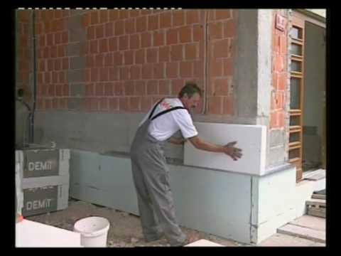 DEMIT fasadni sistem Izvedba fasade DEMIT 1.del