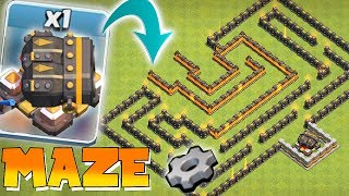 FINAL CANNON MAZE!! | CLASH OF CLANS | CAN ANYONE WIN!?!?