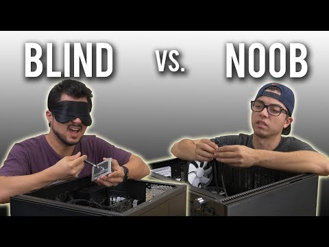 The Blindfold PC Build Challenge