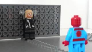 Lego The Amazing Spider man Car Thief scene
