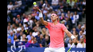 2017 US Open: Rafael Nadal Top Plays