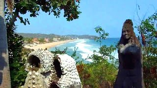 Tour of a Hippie Beach Resort in Zipolite, Mexico (Shambhala)