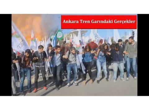 Ankarada Canlı Bomba Patlama Anı
