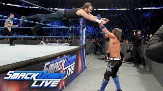 Dean Ambrose vs. AJ Styles - If Ambrose wins, he's No. 1 Contender: SmackDown LIVE, Nov. 1, 2016