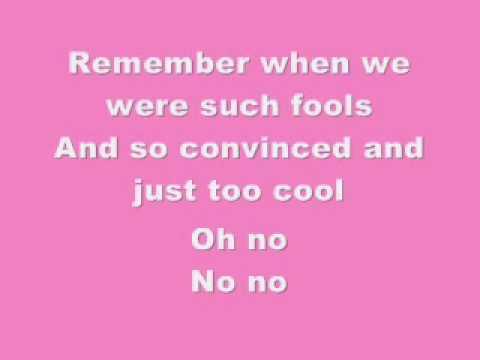 Pink- Who Knew-Lyrics