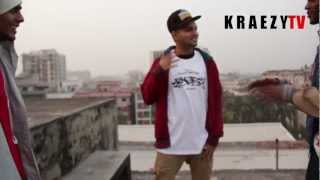 BLACK ZANG + SPADES, DHAKA CITY BANGLADESH QUICK FREESTYLE FOR KRAEZY.TV 2013